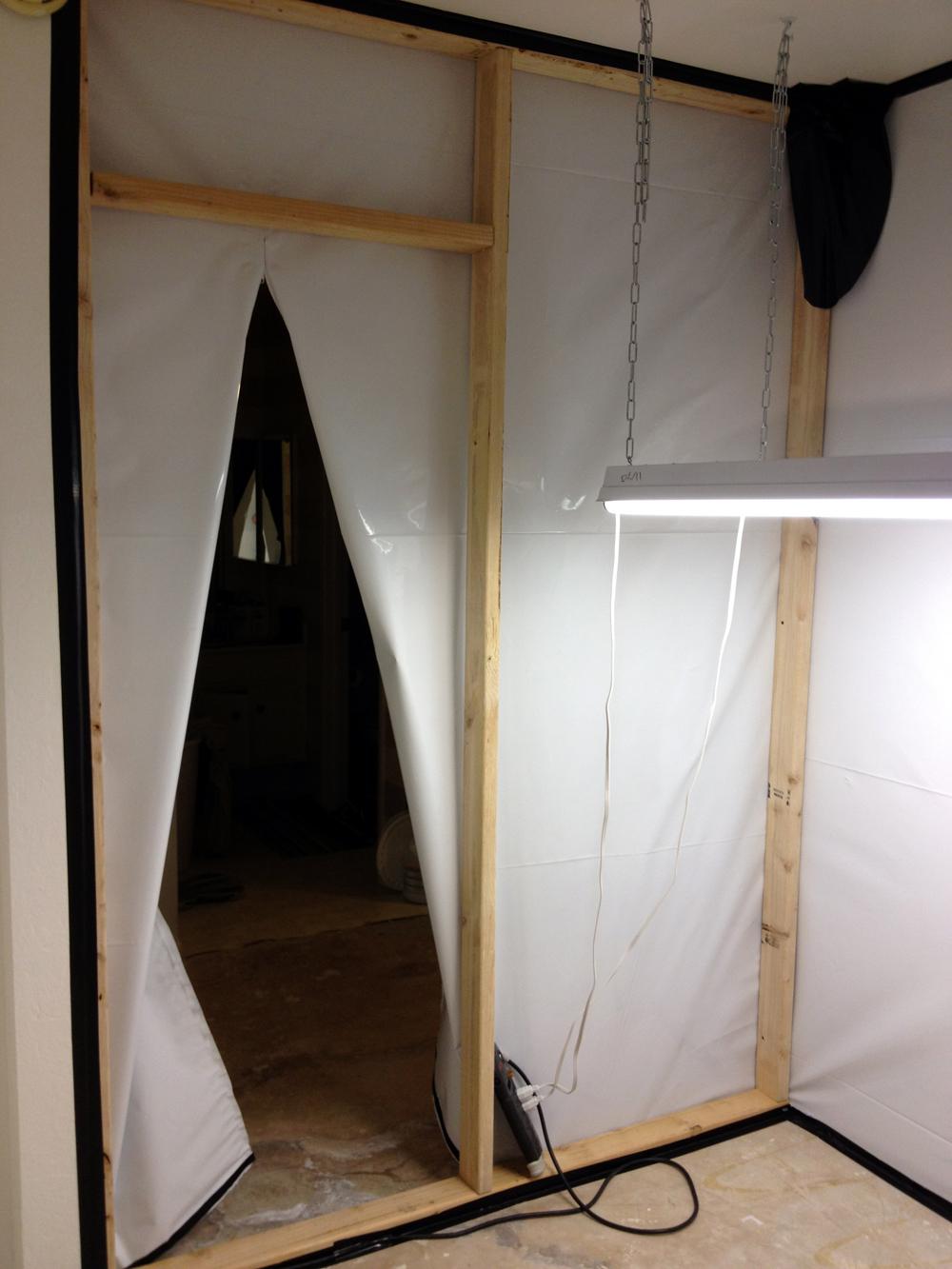 Grow Room Floor White Plastic