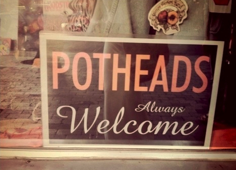 Potheads Welcome
